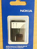 Батарея аккумулятор  Nokia BL-6C AAA класс
