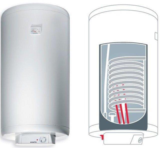 Комбинированный водонагреватель Gorenje GBK 100 RN.