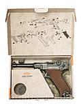 Пневматический пистолет Gletcher P 08 с блоубэком, фото 5