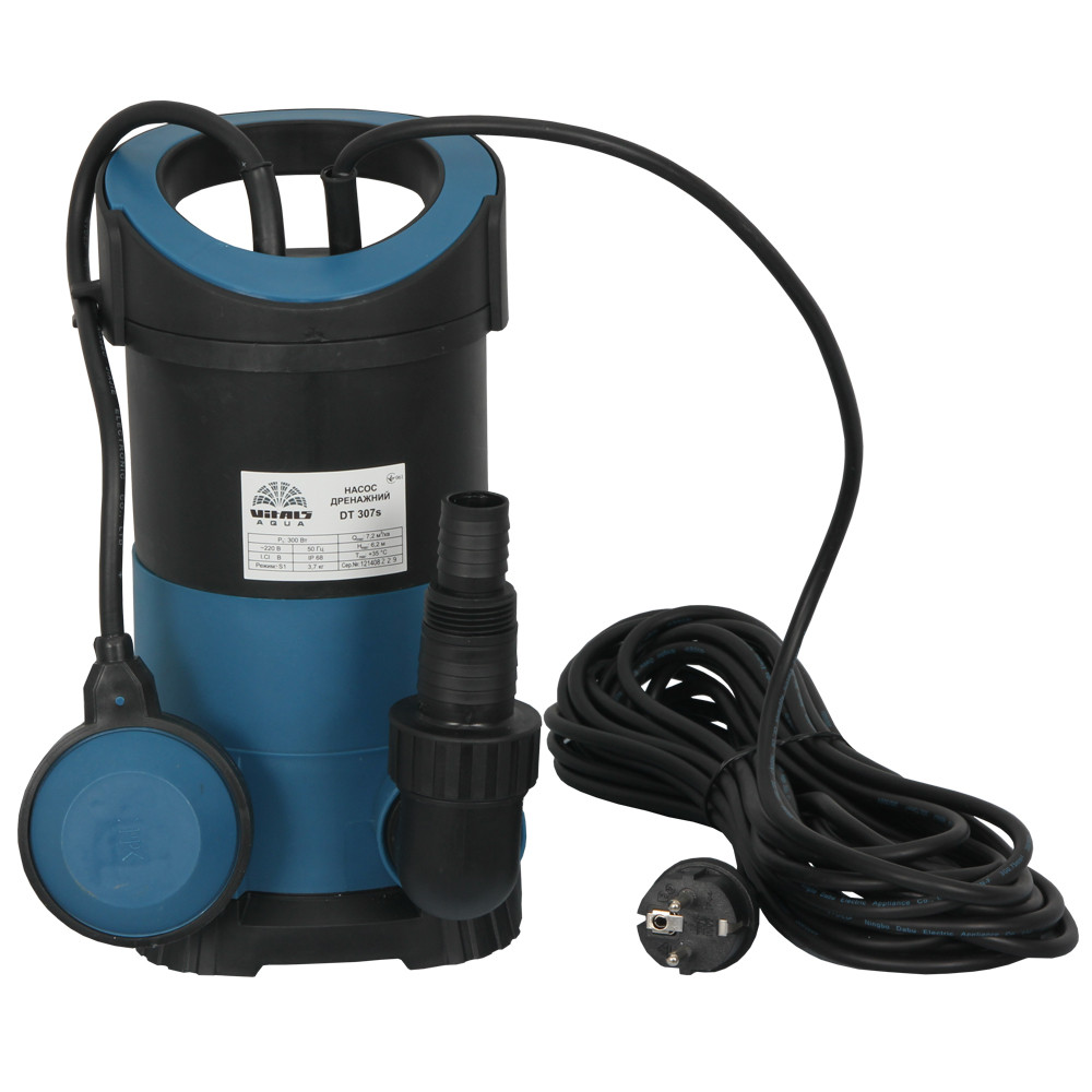 Дренажный насос погружной Vitals DT 307s для чистой воды