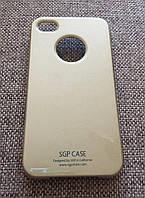 Чехол SGP в комплекте с пленкой iphone 4/4S