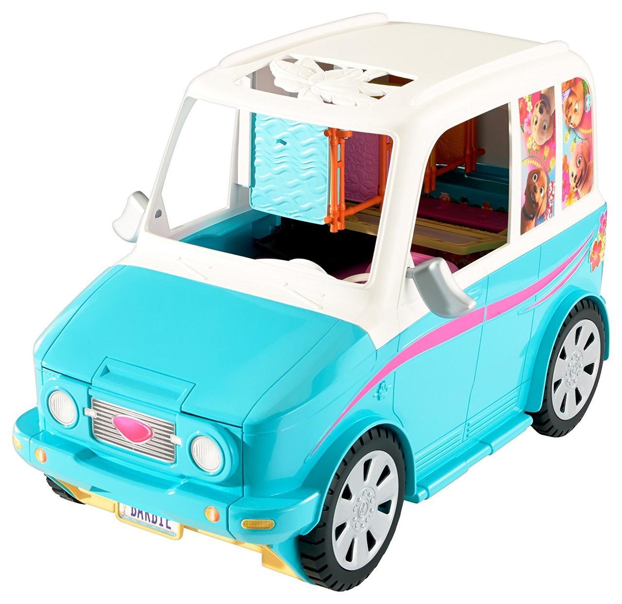 Барби Раскладной фургон  Мобильный автобус для щенков Barbie Ultimate Puppy Mobile Vehicle