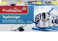 Губки для мытья посуды и нержавейки Profissimo Topf 6 шт