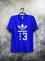 Мужская футболка Adidas (синяя)
