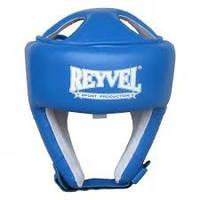 Шлем боксёрский REYVEL винил тип 2 цвета (крансый,черный,белый)
