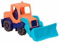 Игрушка для игры с песком - МИНИ-ЭКСКАВАТОР (цвет морской-мандариновый-океан) (BX1440Z)