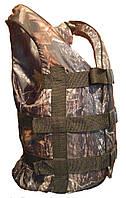 Спасательный жилет Камуфляж Лес Дуб от 70 кг. до 90 кг. Страховочный жилет камуфляж 70-90 кг.