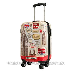 Чемодан на колесах midi Monopol London 3, фото 2