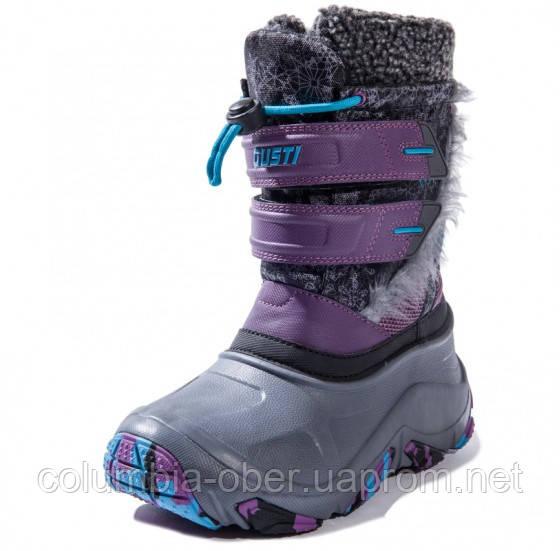 Зимние сапоги для девочки Gusti 030028 Nova 2.0. Размеры 28 - 34.