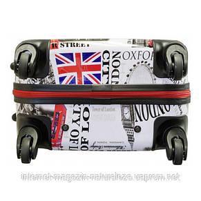 Чемодан на колесиках midi Monopol London , фото 3
