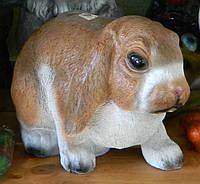 Садово-паркова фігура Кролик рудий 30*18*18 см