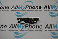 Шлейф для мобильного телефона Meizu M3 note версия М коннетора зарядки, с компонентами