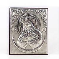 Икона Остробрамская объемная на деревянной основе
