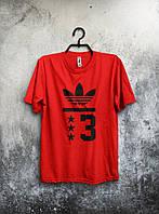 Мужская футболка Adidas (красная)