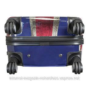Чемодан на колесах midi Monopol London Union Jack, фото 3