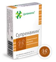 Супренамин - биорегулятор надпочечников. Эффективен при стрессе.