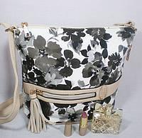 Разноцветная модная молодежная сумочка