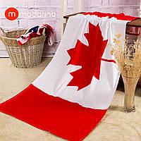 Пляжное полотенце Флаг Канады