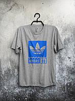 Футболка мужская Adidas 03 (серая)