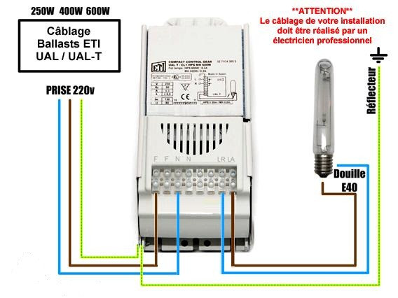 ЕЛЕКТРОМАГНІТНИЙ БАЛАСТ PRO-V-T GIB Lighting 400 W