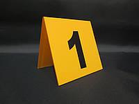 Номер на стол 100*100 мм