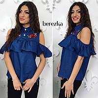 Блуза с вышивкой Сюжет, фото 1