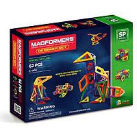 Магнитный конструктор «Дизайнер», 62 элемента Magformers (703002)
