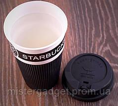 Термочашка Starbucks 400мл. Керамическая кружка Старбакс, фото 2