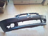 Передний бампер на Mitsubishi Lancer X (стиль Ralliart)