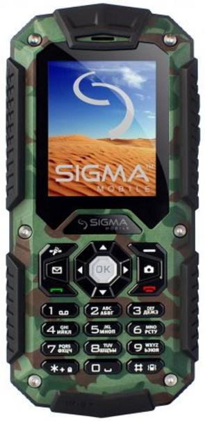 Sigma mobile X-treame IT67 khaki ip67