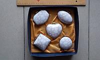 Набор керамических шкатулок в коробке Цвета в ассортименте