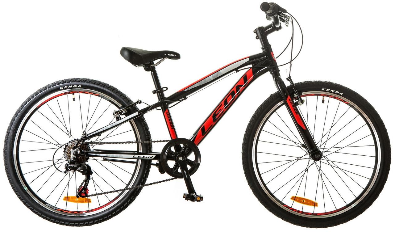 """Подростковый велосипед Leon Junior Rigid 24"""" 2017"""