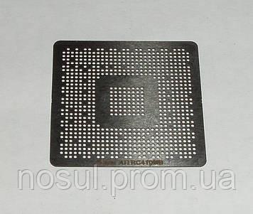 BGA шаблоны ATI 0.6 mm RC410MB / AT1200M Universal трафареты для реболла реболинг набор восстановление пайка р