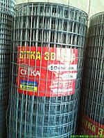 Сетка сварная (оцинковання, с черными точками) 50х50мм d1,8 (1,5мх30м) Центр-Сетка