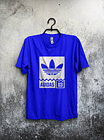Футболка мужская Adidas 03 (синяя)