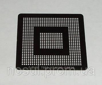 BGA шаблоны ATI 0.6 mm 7500 M7 / 9000 CSP32 / 216QTCGBGA13 трафареты для реболла реболинг набор восстановление