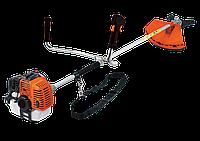 Мотокоса ТехАС ТА-03-152 / Мотокоса 2400 Вт. 43 см³. Катушка с леской 3-х лопастной нож