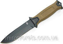 Нож Gerber StrongArm Fixed Blade серрейтор, койот +паракорд