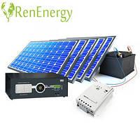 Монтаж солнечных электростанций