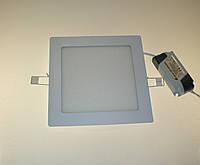 Светодиодный светильник Ecostrum 6W 4000К встраиваемый квадрат