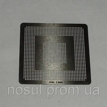 BGA шаблоны ATI 0.6 mm R360 трафареты для реболла реболинг набор восстановление пайка ремонт прямого нагрева