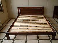 Кровать массив ольхи