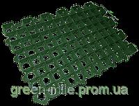 Газонная решетка пластиковая зеленая модуль 400х600 высота 38мм