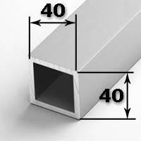 Труба квадратная 40х40х2,0 мм
