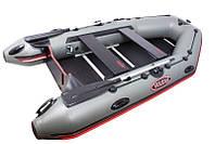 Моторная лодка с надувным килем Vulkan TMK280 Steel - limited edition
