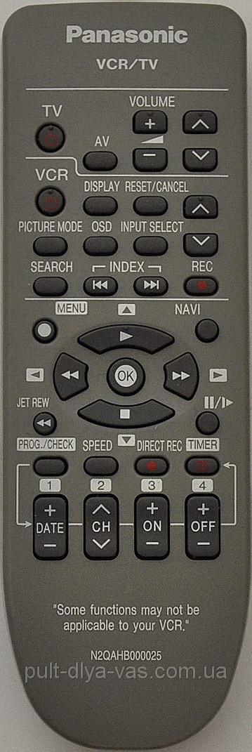 Panasonic N2QAHB000025  (VCR)
