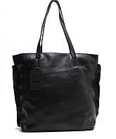 Женская кожаная сумка 11 HF Черная