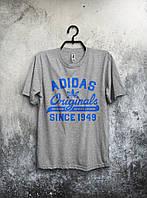 Футболка мужская Adidas Originals (серая) реплика