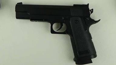 Детский пистолет Zm 26, метал, пульки в комплекте (6 мм). , фото 3