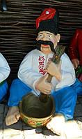 Садово-паркова фігура Козак з ложкою 71 см